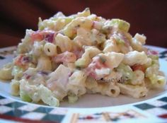 Low-Carb Low-Calorie Macaroni Salad Recipe