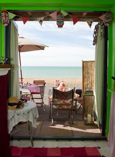 A beautiful Brighton and Hove Beach Hut that can be hired out for hen parties, intimate wedding receptions and photo-shoots, catering available too!