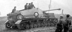 """a German """"Dicker Max"""". With its large main gun, it was very successful on the battlefield. Military Photos, Military History, Tank Armor, Military Armor, Man Of War, Tank Destroyer, Armored Fighting Vehicle, Battle Tank, World Of Tanks"""