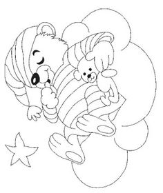 Teddy bears coloring page 106