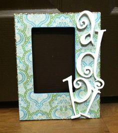 big/little gift ~ ADPi picture frame!