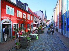 http://www.gluecksburg-urlaub.de Rote Straße, Flensburg
