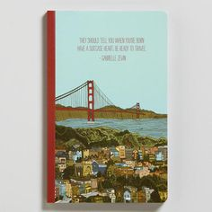 One of my favorite discoveries at WorldMarket.com: 'They Should Tell You' Write Now Journal