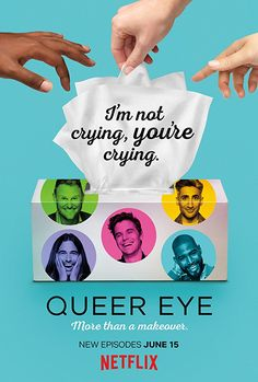 "The Fab Five are back for Season Catch ""Queer Eye"" on Netflix! Watch our cast interviews, video clips! Best Tv Shows, Favorite Tv Shows, Movies And Tv Shows, Best Holiday Movies, Tan France, Eyes Wallpaper, Fab Five, Straight Guys, Make You Cry"