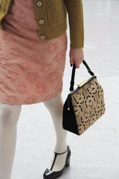 Granny Sweater and Dress-Orla Kiely fall/winter 2013!
