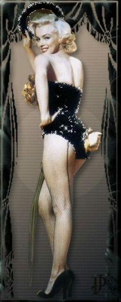 Marilyn from Gentleman Prefer Blondes
