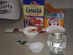 Momma Melly: Corn Starch Ornaments (No Flour!)