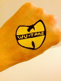 Wu tang clan tattoo paint POSCA