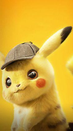 Pokémon: Detective Pikachu poster, t-shirt, mouse pad Pikachu Pikachu, Pikachu Tumblr, Cute Pokemon Wallpaper, Cute Disney Wallpaper, Cute Cartoon Wallpapers, Pokemon Fusion, O Pokemon, Pokemon Cards, Wallpaper Sky