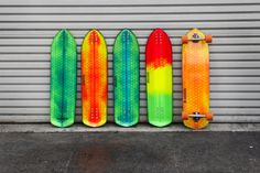 Hydroflex™ Skateboards - Making composite skateboards built with foam, fiber and resin.