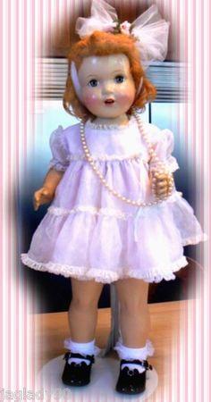 "1940s Peggy Walker Doll Big 27"" Tall Beauty by The Paris Doll Company   eBay"