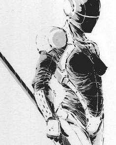 Cyberpunk Ninja by getd