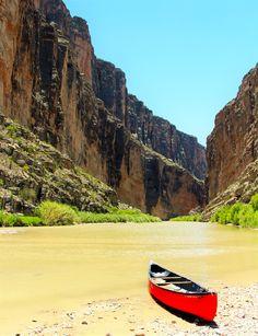 Santa Elena Canyon -- Photo donated by Oscar Hinojos