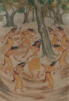 Untitled - Dol festival Nandalal Bose