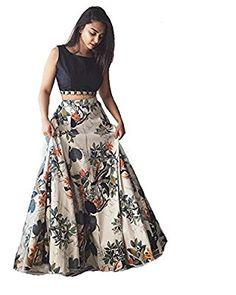 Buy Palli Fashion Black Floral Printed Silk Lehenga online in India at best price. Cotton Lehenga, Silk Lehenga, Silk Dupatta, Anarkali, Cropped Tops, Party Wear Dresses, Dress Suits, Hot Pink Skirt, Crop Tops Online