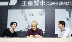 [HQ PRESS PICS] 140911 JYJ at Press Conference for 2014 JYJ Concert in Taipei 'RETURN OF THE KING'