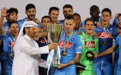 Napoli, è un Hamsik raggiante: ''Altra grande vittoria in maglia azzurra'' #hamsik #napoli #supercoppa