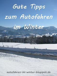 Zahlreiche gute Tipps rund um das Autofahren im Winter:  Von den Vorbereitungen des Fahrzeugs auf die kalte Jahreszeit bis hin zum sicheren Fahren auf Eis und Schnee.