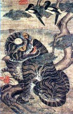 Magpie and Tiger