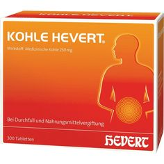 KOHLE Hevert Tabletten:   Packungsinhalt: 300 St Tabletten PZN: 03477398 Hersteller: Hevert Arzneimittel GmbH & Co. KG Preis: 29,83 EUR…
