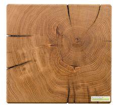 Holzblock   #Eiche   massiv   Massivholzblock von oben gesehen. www.holzmoebelkontor.de