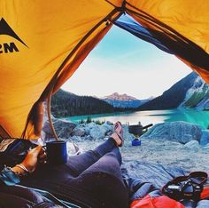 Camping- Mountain style