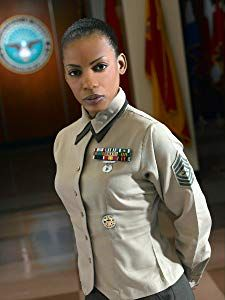Aunjanue Ellis as Joyelyn Pierce Military Ranks, Military Women, Military Veterans, Military Life, Military Personnel, Female Marines, Female Soldier, Women Marines, Black Women Art