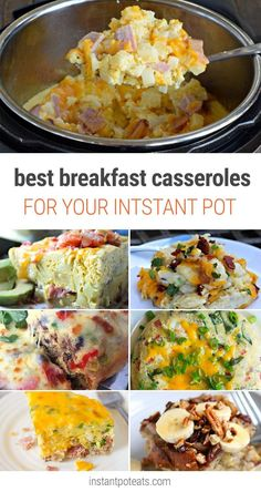 Best Instant Pot Breakfast Casserole Recipes