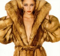 Sable Advert by Fur Fashion Scans, via Flickr