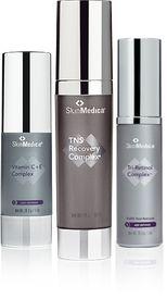 Skin Medica Vitamin CE-  Skin Medica TNS Recovery Complex- Skin Medica Tri Retinol Complex For more information on SkinMedica 512.533.7317 www.toccareaustin.com