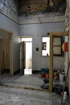 #StudioPipitone_workinprogress  #Cantiere di #ristrutturazione di un edificio in centro storico, #Alcamo, #StudioPipitone