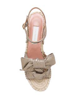 L'Autre Chose wedge espadrille sandals