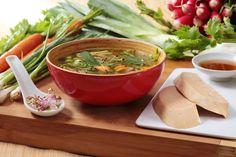 """La soupe """"Pho"""" au Foie Gras et petits légumes #foiegras #recettes http://tinyurl.com/qzrm8h3"""
