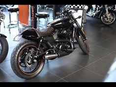 Harley Davidson Street750 Cafe Racer part 3 - YouTube