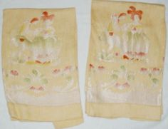 https://www.etsy.com/listing/279563904/vintage-towels-tea-oriental-yellow?ref=shop_home_active_3  Vintage Towels Tea Oriental Yellow Damask. Vintage linen tea towel of damask material with silk threading with figural desig...