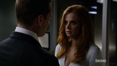 Great Darvey scene, but it seemed so bizarre that Harvey didn't kiss her or at least comfort her in some way- a hug, maybe? She was just so upset, and he was saying such husband-like things, it was one of those weird scenes where if I had just come into the show cold, I would have thought they were married and been confused why they didn't kiss (hell, I know they're not married and was confused why they didn't kiss).