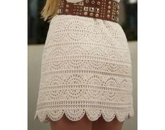 CROCHET RUFFLES SUMMER SKIRT PATTERN INSTANT DOWNLOAD  This marvelous crochet skirt `s perfectly well for hot summer. Light and playful can be used in resorts places and for walking on the beach. Easy and fast to make by numerous pictures of each step of the process.  The pattern is written in English, using US terms. Size: S/M (L/XL)  Skill Level Easy.  Materials needed: yarn Fingering weight / 4 ply cotton Hook: 2,5 mm  You will get: 1. Skirt phototutorial step by step. ...