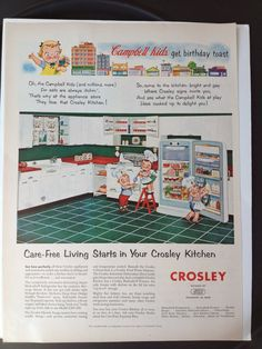 Campbell Soup Kids. 8 MidCentury by ModernaireMCMStudios on Etsy, $13.95
