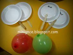 Okul öncesi eğitim : MİNİ GÜNCE: 2 Raket 1 Balon :)