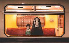 Новая работа ребят из 2D Among Us - персонажи мультфильмов и кино оживают в России