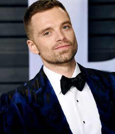 Sebastian Stan attends the 2018 Vanity Fair Oscar Party hosted by Radhika Jones at Wallis Annenberg Center for the Performing Arts on March 4, 2018