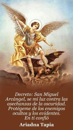 Archangel Michael- Decreto.