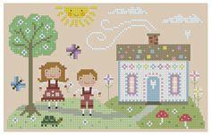 The Floss Box | Hansel and Gretel Cross