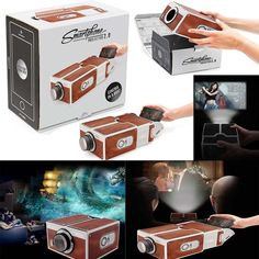 V2.0 Smartphone Projector DIY Portable Mobile Phone Theater Cinema For iPhone   Consumer Electronics, TV, Video & Home Audio, Home Theater Projectors   eBay!
