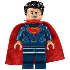 Lego Superman 76044 76087 Dark Blue Suit Dawn of Justice Super Heroes Minifigure Buy Lego, Lego Dc, Lego Marvel, Superman News, Batman Vs Superman, Dark Blue Suit, Batman Figures, Lego News, Lego Disney
