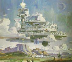 Robert Mccall - Arizona metropolis -1971