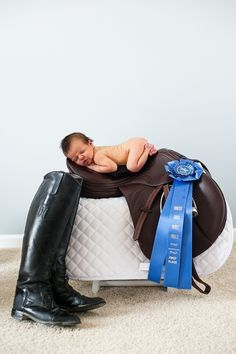 newborn on english saddle - Google Search