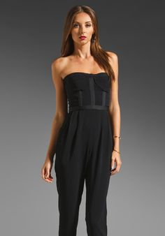 CAMILLA AND MARC Castle Jumpsuit in Black at Revolve Clothing - Free Shipping!