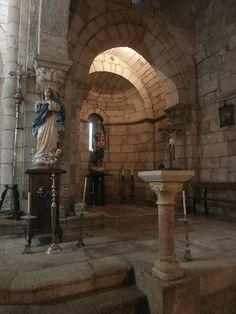1000 Lugares en Galicia: Monasterio de Santa María de Mezonzo. Interior (II...