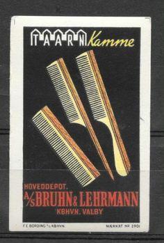 Mærkat A/S Bruhn og Lehrmann  Valby (2796 2)